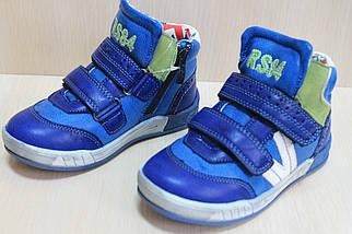 Демисезонные высокие ботинки для мальчика спортивный дизайн тм SUN р. 31, фото 2