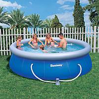 Надувной круглый бассейн BеstWay 366 см х 91 см с фильтром