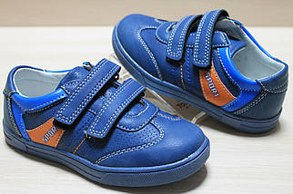 Синие кроссовки для мальчика серия спортивных ботинок на липучке тм Tom.m р.30, фото 2