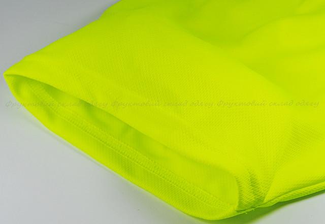 Мужская спортивная футболка Ярко-жёлтая