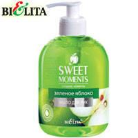 Bielita - Sweet Moments Жидкое мыло для рук Зеленое яблоко 500ml