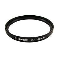 Ультрафиолетовый UV фильтр 55мм CITIWIDE