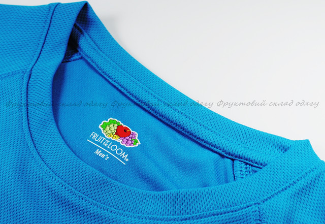 Мужская спортивная футболка Ультрамариновая