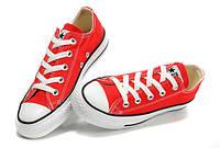 Кеды, Converse All Star Low  Красный (36-40 р.)