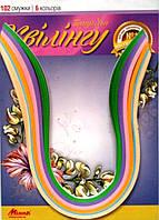 Набор бумаги для квилинга № 14 Цветочная гамма