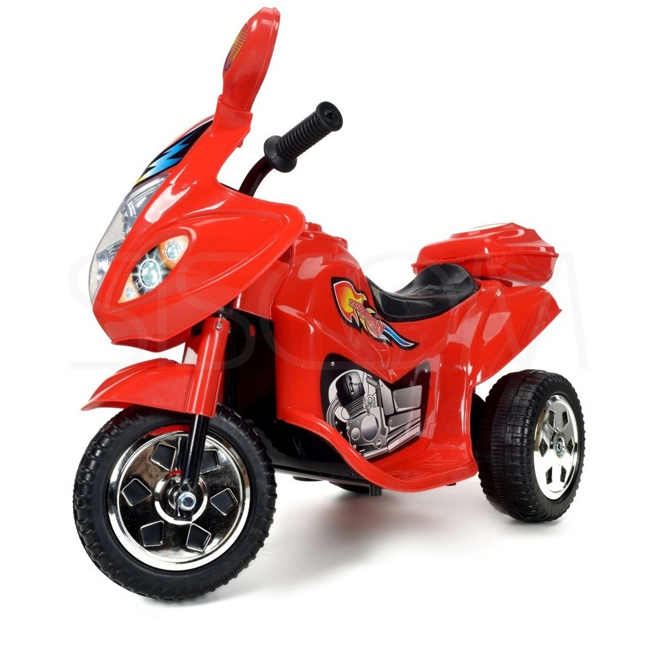 Детский мотоцикл на аккумуляторе (красный)