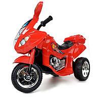 Детский мотоцикл на аккумуляторе (красный), фото 1