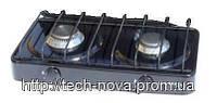 Газовая плитка ЭЛНА  ПГ-2-Н без крышки  (2 конфорки)