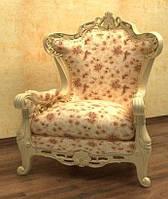 3д модель кресла