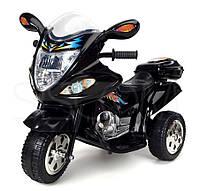 Детский мотоцикл на аккумуляторе (черный)