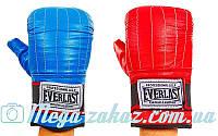Снарядные перчатки с эластичным манжетом на липучке Elast 01012, 2 цвета: кожа, M/L/XL