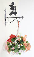 Настенная подставка для подвесного цветка Ангел А-5