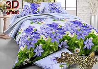 Комплект постельного белья 3D поликоттон ТМ Sveline Tekstil (Украина) евро PC044