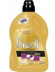 Perwoll жидкое средство для деликатной стирки Уход и Восстановление 3 л