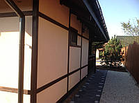Отделка деревянными панелями, вагонкой дома
