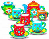 Роспись. Чайный сервис. 4М Набор для творчества