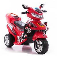 Детский электромотоцикл мотобайк BAMBI с звуковыми и световыми сигналами