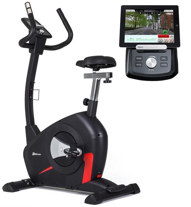 Велотренажер Hop-Sport HS-100H Solid iConsole+ LC для дома и спортзала