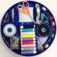 Швейный набор ХОЗЯЮШКА, набор ниток и иоголок