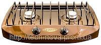 Газовая плитка настольная GEFEST ПГ-700-02 (2 конфорки, шланг для подключения)