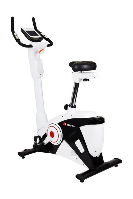 Велотренажер Hop-Sport HS-090H Apollo EMS black/white для дома и спортзала