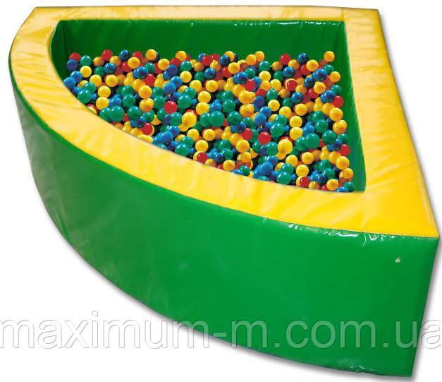 Сухой бассейн  (r150xh50) см, шарики – 600 шт.