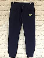 Спортивные синие штаны для мальчика  122-164