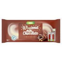 Молочный шоколад с цельным лесным орехом Asda Wholenut milk chocolate