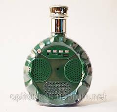 Портативная колонка коньяк Excellence, DS-XO 03, зеленый, фото 2