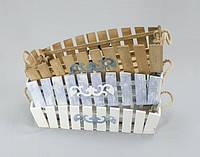 Кашпо деревянное 600 х 160 мм (ящик под цветы)