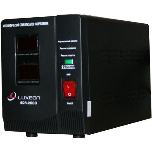 Стабілізатор напруги релейний Luxeon SDR-2000VA 2000ВА