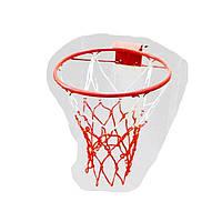 Кольцо баскетбольное деткое №3 + Сетка (ДЕТСКИЙ КОМПЛЕКТ)