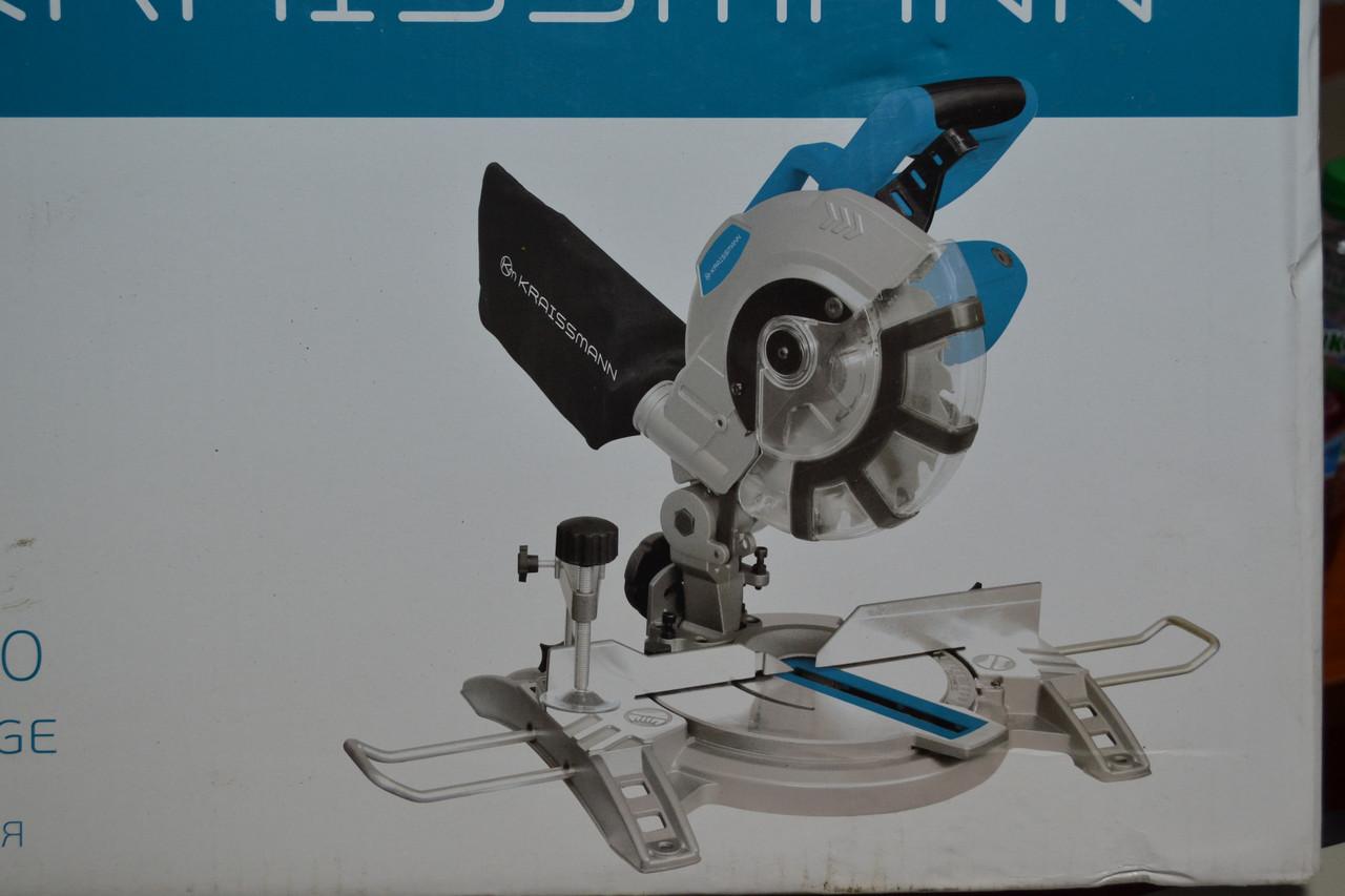 Пила торцювальна KRAISSMANN 1800 GS 210