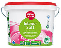 """Вива Колор Софт """"Vivacolor Interior Soft"""" Совершенно матовая краска, стойкая к очистке 9л"""