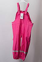 Детские водонепроницаемые штаны (розовые), р. 110-116