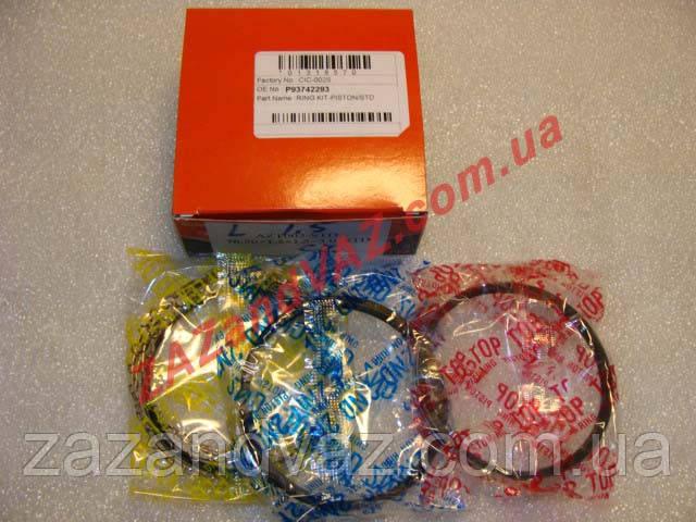 Кольца поршневые Ланос Lanos 1.5 AZTEC 77.0 ремонт +0.5 Корея 93742295