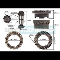 Шестерни для перфоратора с муфтой определяются по конструктивным характеристикам  большая шестерня наружный  amp;Oslash