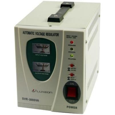 Стабилизатор напряжения релейный Luxeon SVR-2000VA 2000ВА