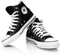 Кеды, Converse All Star высокие  Черный (35-37, 40, 44 р.)