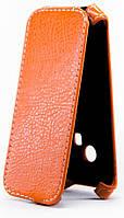 Чехол Status Flip для Microsoft Lumia 625 Orange