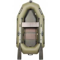 Надувная лодка BARK В-220С Одноместная гребная, реечный настил, комплект