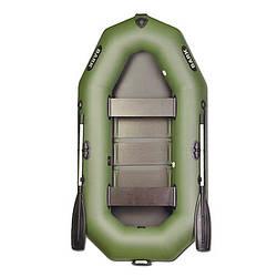 Надувная лодка BARK В-240С Двухместная гребная, реечный настил, комплект