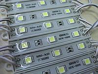 Светодиодный модуль SMD5050 3 эл. влагозащищённые 54 lm