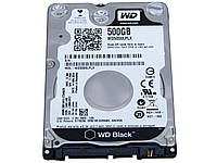 "Жесткий диск 2.5"" 500Gb Western Digital Black, SATA3, 32Mb, 7200 rpm (WD5000LPLX)"