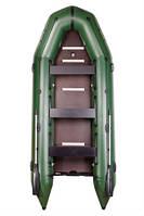 Надувная моторная лодка BARK BT-450S Восьмиместная моторная, килевая со сплошным разб. наст, комп.