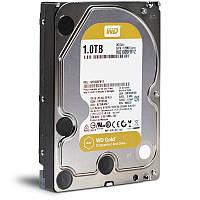 Жесткий диск для компьютера 1Tb Western Digital Gold, SATA3, 128Mb, 7200 rpm (WD1005FBYZ)