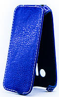 Чехол Status Flip для Microsoft Lumia 625 Dark Blue