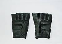 Перчатки для атлетики и фитнеса кожаные (Пакистан)