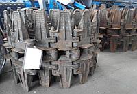 Гусеницы (болотоход) 77.34.001А/002А-03СБ для трактора/бульдозера ДТ-75 болотоход (пр-во ЧАЗ)