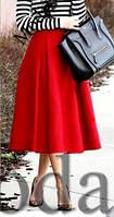 Юбка женская Миди с карманами, фото 1